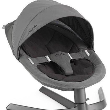Aizsargpārklājums bērnu šūpuļkrēslam Nuna Leaf ™ Cinder, pelēks